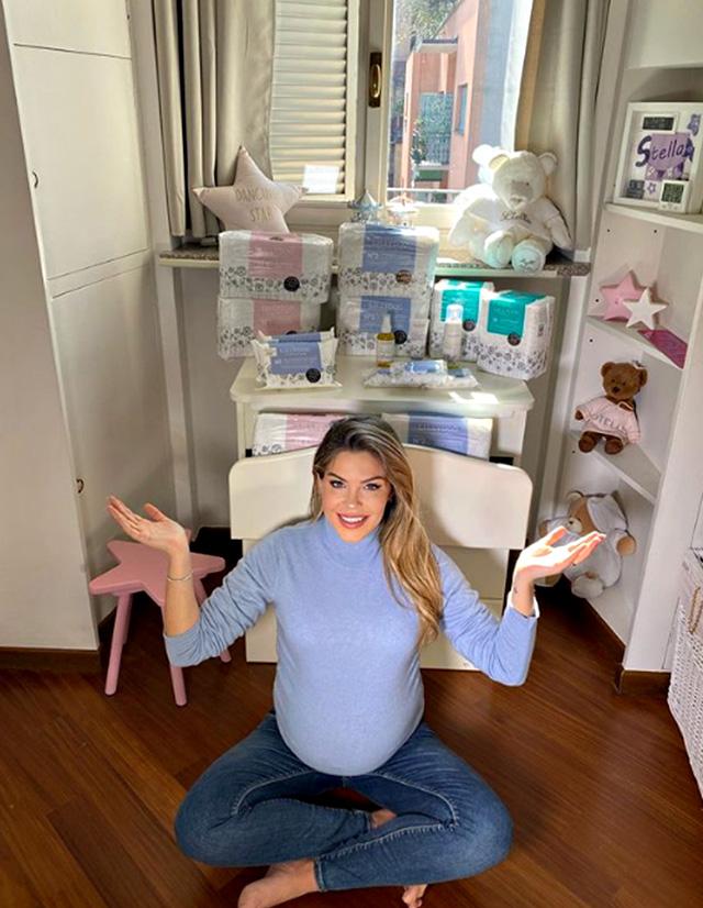 Costanza Caracciolo, il giorno del parto di avvicina: ecco la stanza della secondogenita
