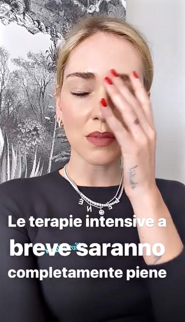 Chiara Ferragni, 32 anni, annuncia la morte della nonna e chiede a tutti gli italiani di rimanere in casa per l'emergenza Coronavirus