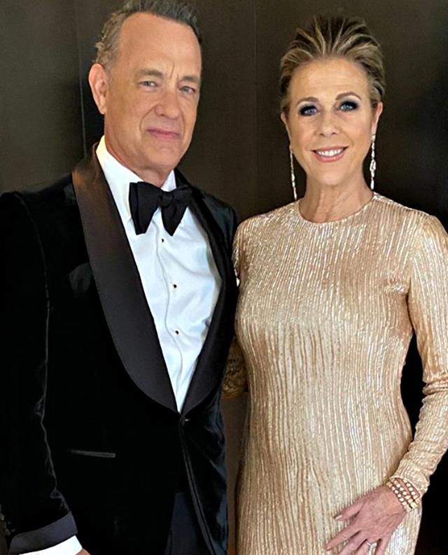 Tom Hanks, 64 anni, e la moglie Rita Wilson, 64, sono positivi al Coronavirus e anche sintomatici