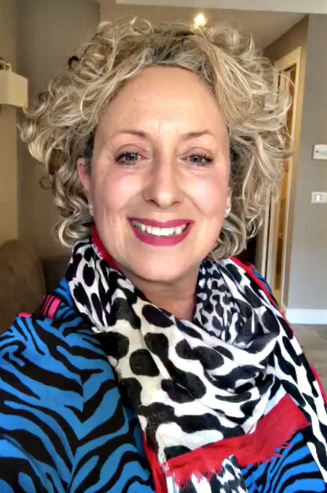 Carolyn Smith: 'Ho perso 9 chili'
