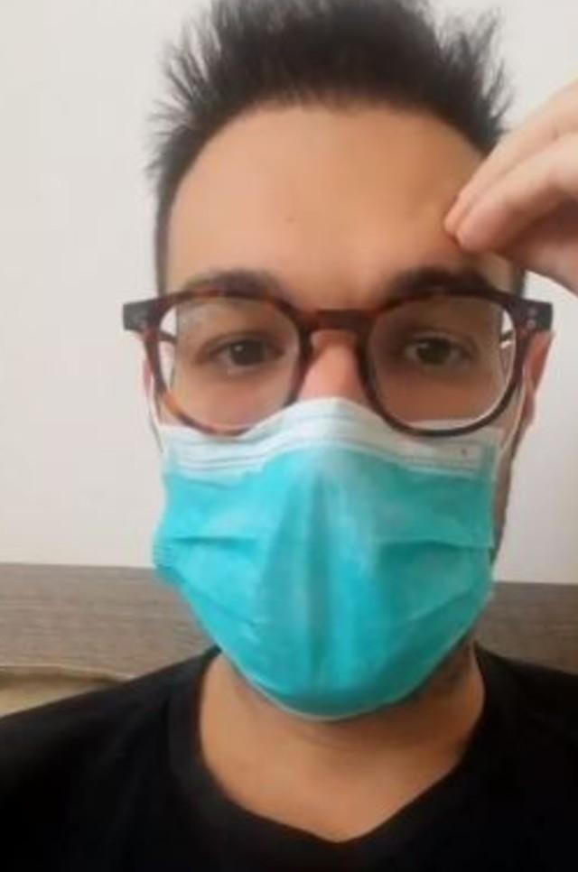 Leonardo Greco, drammatico appello dopo essere stato dimesso dall'ospedale: 'Restate a casa!'