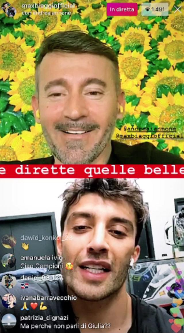 Andrea Iannone conferma la rottura con Giulia De Lellis: 'Non so dov'è...'