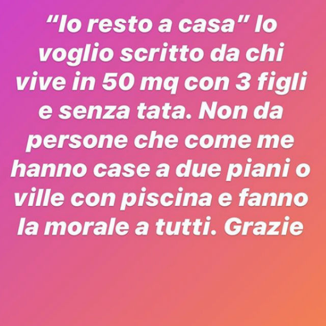Sonia Bruganelli, la riflessione sui vip in quarantena: ''Io resto a casa' lo voglio scritto da...'