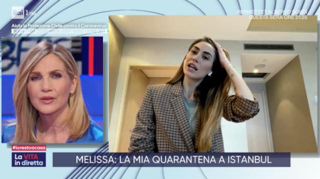 Melissa Satta, quarantena in Turchia: 'Bloccata a Istanbul, Boateng ha fatto il tampone...'