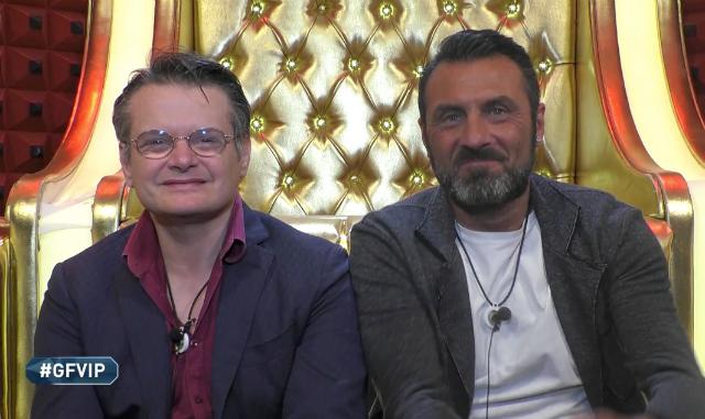 GF Vip: Aristide Malnati secondo finalista, eliminate Fernanda Lessa e Sara Croce