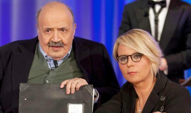 Maria De Filippi e la quarantena con Maurizio Costanzo: ''Rimaniamo distanti anche a casa''
