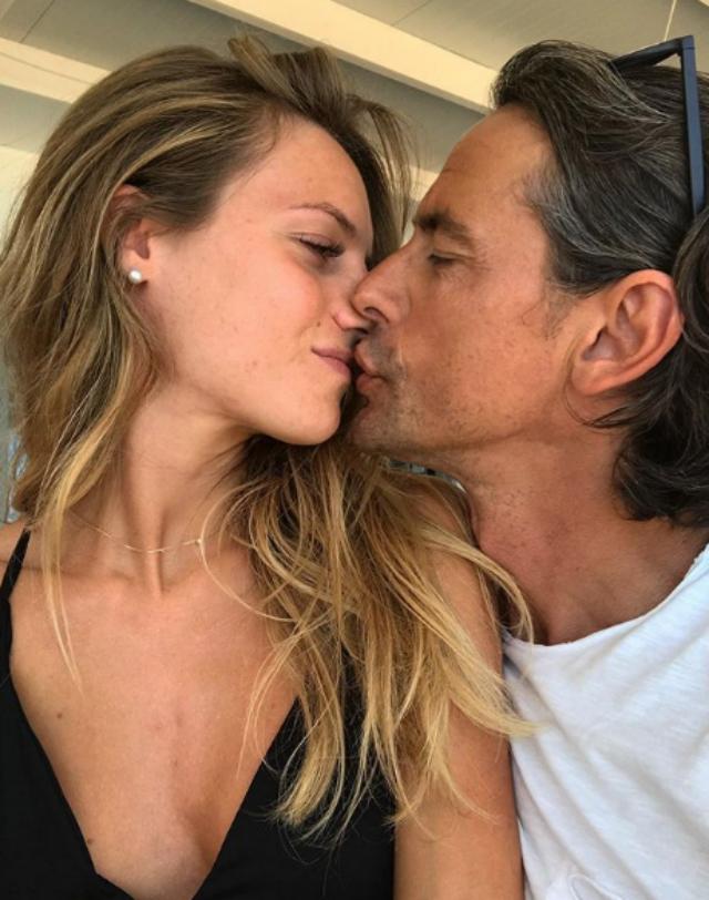 Angela Robusti bacia Filippo Inzaghi, 46 anni: romantica e rarissima foto social insieme