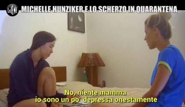 La vendetta si serve in quarantena: Michelle Hunziker vittima di un terribile scherzo della figlia Aurora
