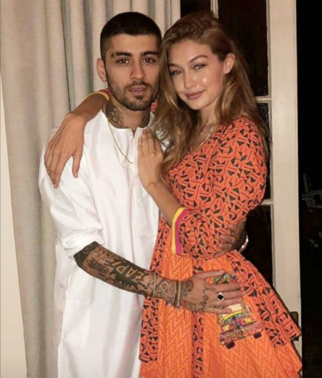 Gigi Hadid, 25 anni, sarebbe incinta del suo primo figlio insieme a Zayn Malik, 27