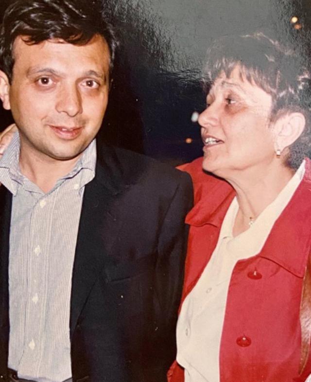 Piero insieme alla mamma Felicita, scomparsa a 83 anni lo scorso marzo dopo aver contratto il Covid-19