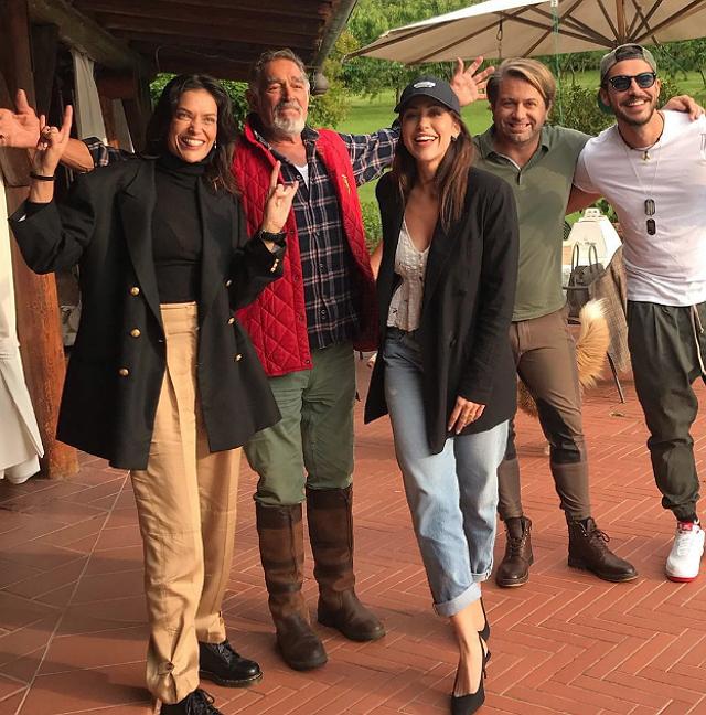 GF Vip: chi si rivede! Reunion dei concorrenti a casa di Fabio Testi: ecco chi c'è