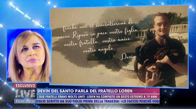Lory Del Santo si emoziona di nuovo parlando del figlio Loren e rivela: 'MI ha dato il primo bacio a 15 anni'