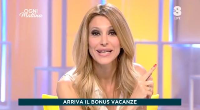 Adriana Volpe, il suo nuovo programma su Tv8 è iniziato: le prime immagini