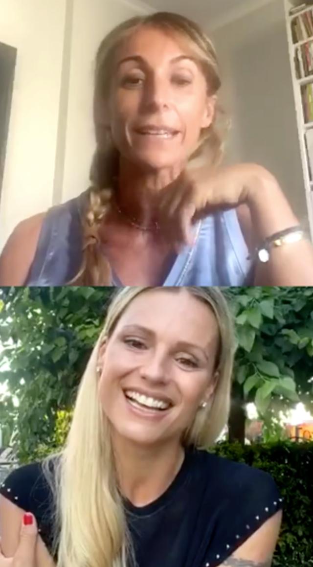 Michelle Hunziker: 'Il fidanzato di mia figlia Aurora è un ragazzo meraviglioso'