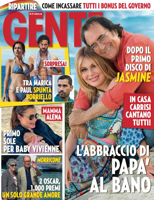 Jasmine Carrisi in copertina col padre Al Bano: 'Sento addosso i pregiudizi sui figli d'arte, ma sono decisa'