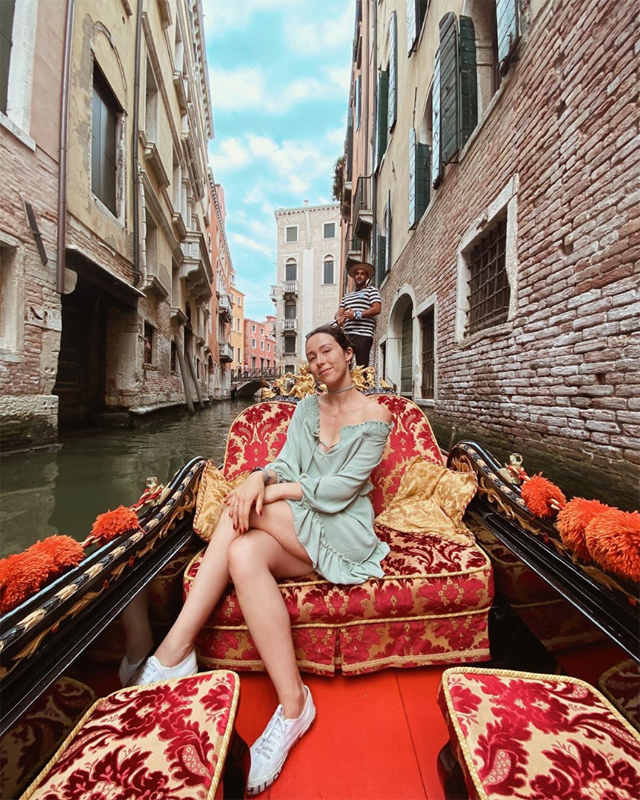 Aurora in questi giorni si trova a Venezia