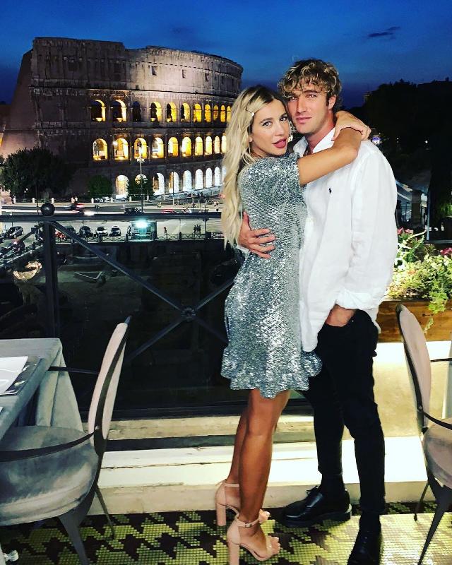 Paolo e Clizia festeggiano l'anniversario
