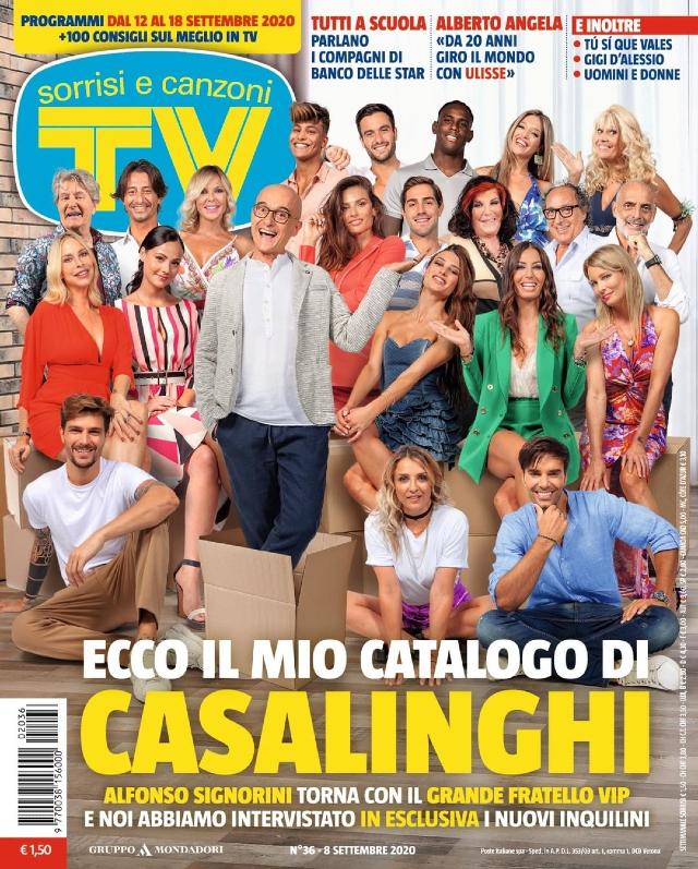Il cast del Grande Fratello Vip, in partenza lunedì 14 settembre in prima serata su Canale5