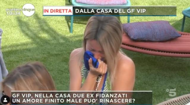 Flavia Vento subito in lacrime al GF Vip: ecco cos'è successo