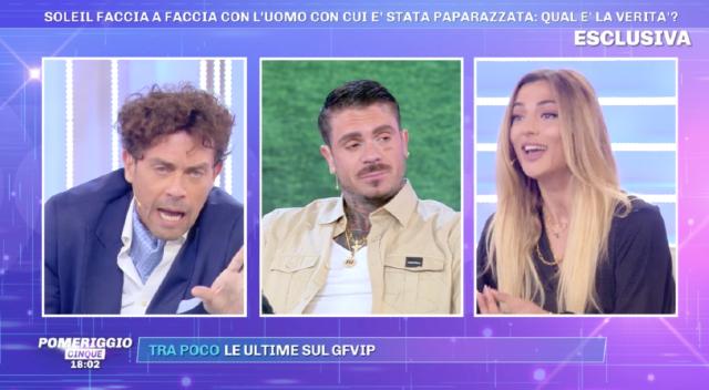 Soleil Sorgè: 'Luca Onestini pronto a vendere la madre per fare tv'. E Tonon sbotta