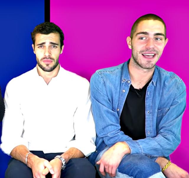Tommaso Zorzi insieme a Goffredo Cerza, il fidanzato di Aurora