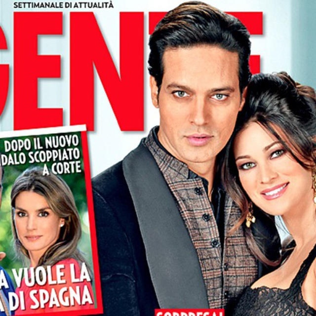 Una delle tante copertine in coppia di Garko, 48 anni, e Manuela Arcuri, 43, ai tempi della loro relazione ufficiale