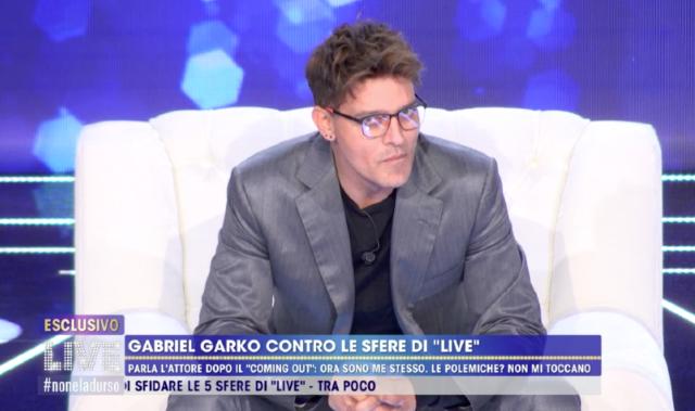 Gabriel Garko parla per la prima volta della storia con Gaetano: la D'Urso sapeva tutto da molto tempo