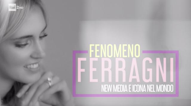 Chiara Ferragni intervistata dalla Ventura su Raidue: 'Io e Fedez, persone pure'
