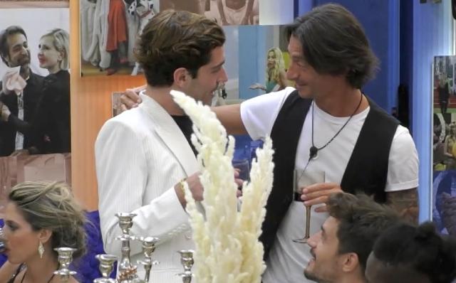 Francesco Oppini, 38 anni, e Tommaso Zorzi, 25, hanno stretto un forte legame nella Casa del 'Grande Fratello Vip'