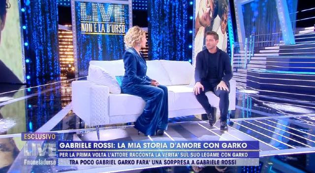 Gabriele Rossi rivela: 'Io e Garko amanti per 5 mesi, ci siamo conosciuti sul set di...'
