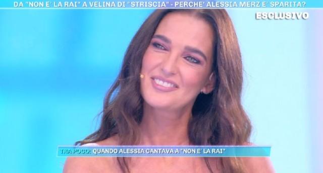 Chi si rivede! Alessia Merz in tv: 'Ecco perché ho lasciato il mondo dello spettacolo'