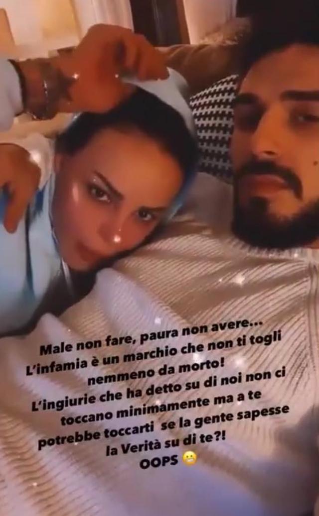 Nina Moric: 'Fabrizio Corona è fidanzato con Mariana Rodriguez'