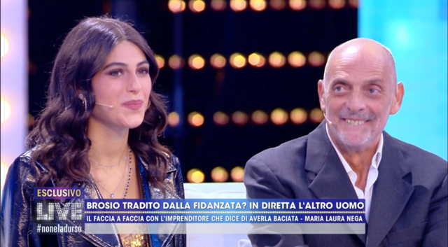 Paolo Brosio a Live, Diego attacca Maria Laura: