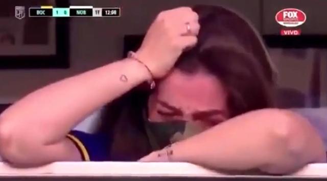 La figlia di Maradona scoppia in lacrime allo stadio: ecco perché