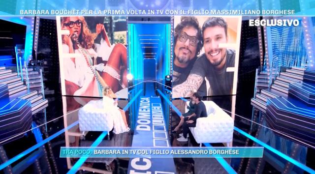 Il bellissimo fratello di Alessandro Borghese per la prima volta in tv
