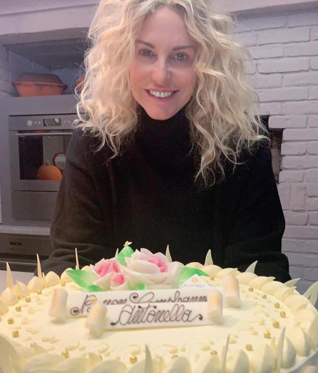Antonella Clerici, ecco come ha festeggiato i 57 anni: foto