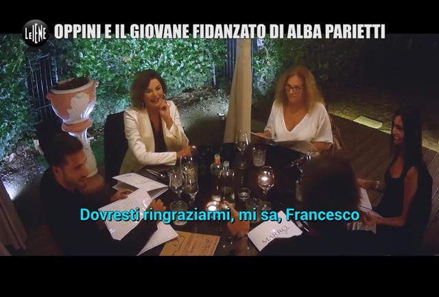 Francesco Oppini su tutte le furie per il toy boy approfittatore di mamma Alba Parietti