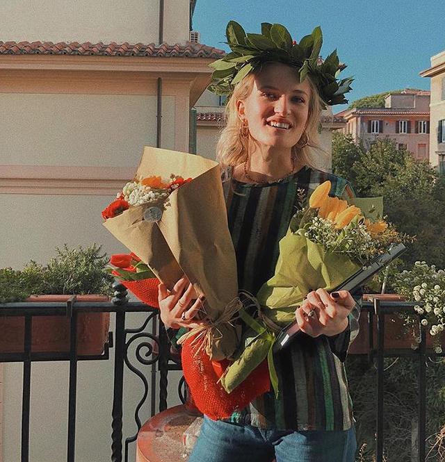 La figlia di Isabella Ferrari si è laureata: foto
