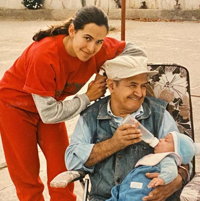 Barbara D'Urso, rara foto col padre: guarda