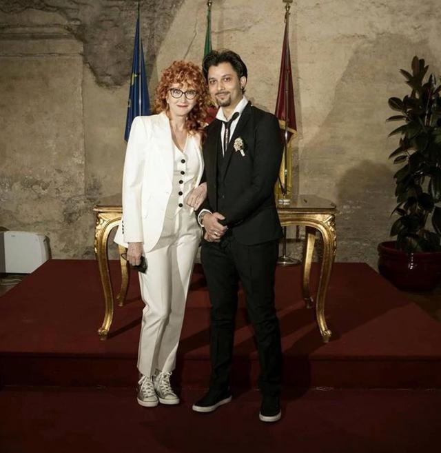 Fiorella Mannoia si è sposata: la foto delle nozze con Carlo Di Francesco