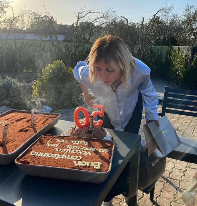 Veronica Peparini festeggia i 50 anni: il regalo di Andreas