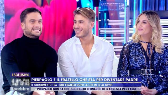 Il fratello di Pierpaolo Pretelli e la fidanzata incinta per la prima volta in tv: guarda