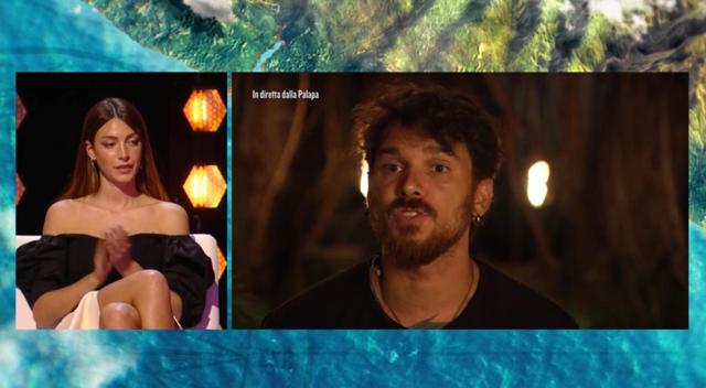 Durante l'ultima puntata del reality la fidanzata Arianna Cirrincione gli ha detto che sta apparendo un po' spento
