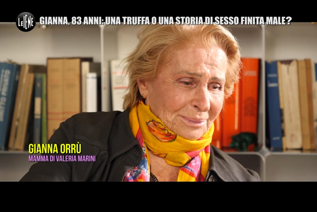 La madre di Valeria Marini scoppia a piangere a dirotto in tv