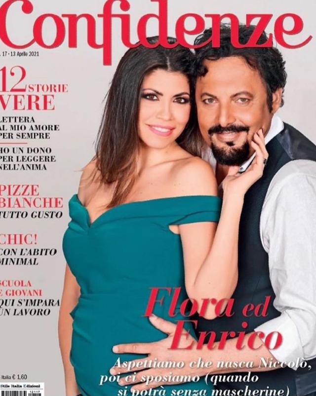 Flora Canto, incinta di Brignano, rivela: 'Enrico voleva chiamarlo Alfio o Saturnino, invece...'