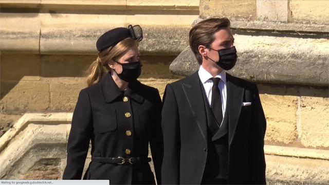 L'inglese di origini italiane Edoardo Mapelli Mozzi con la moglie Beatrice di York