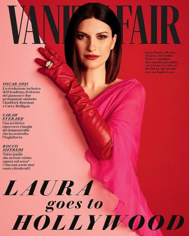 Laura Pausini da Los Angeles spiega: 'Ecco cosa farò se vincerò l'Oscar'