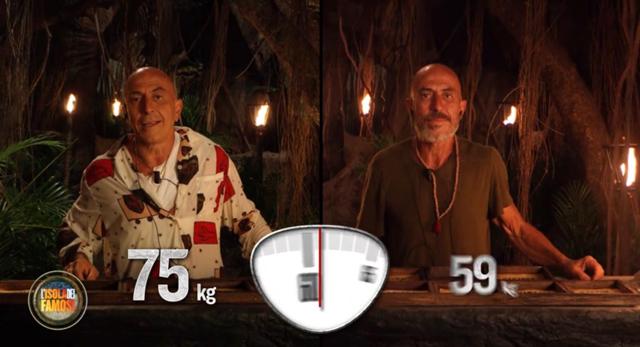 Isola dei Famosi, ecco quanti chili hanno perso i naufraghi in Honduras
