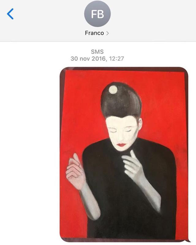 Emma Marrone, Franco Battiato le ha dedicato un quadro: 'Questa sei tu'