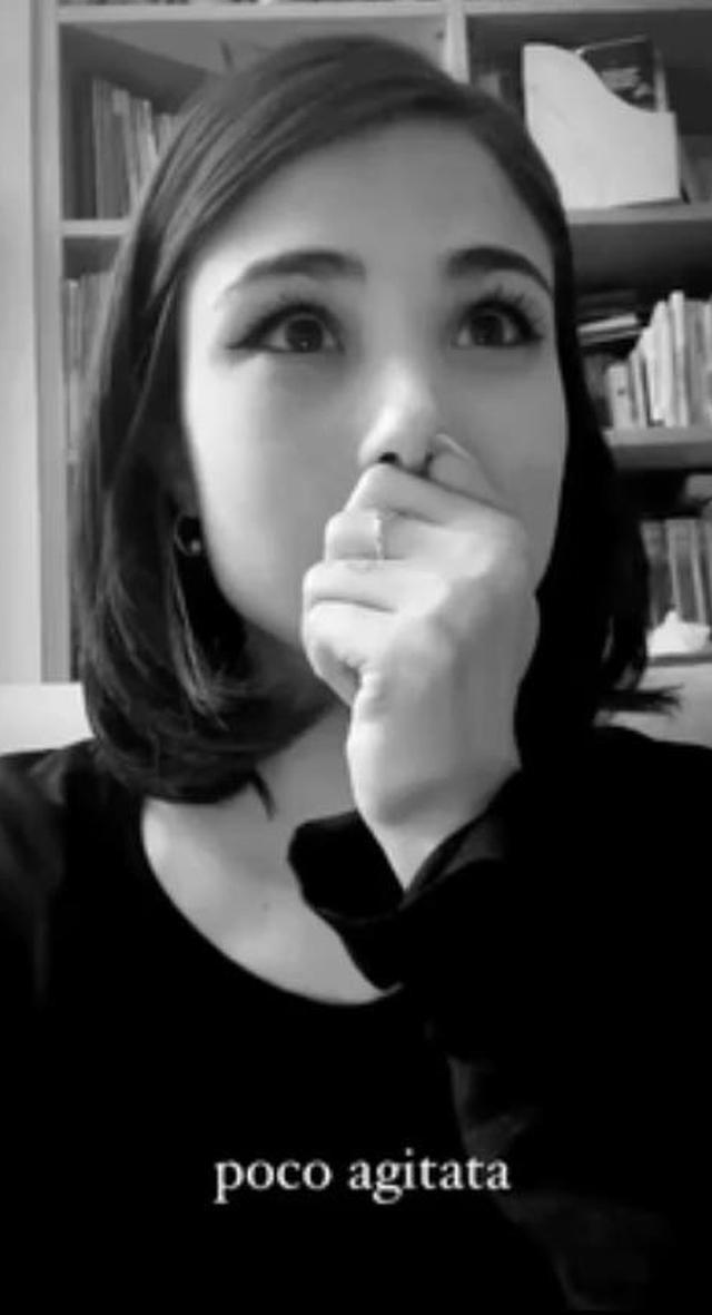 La fidanzata di Damiano David piange per la vittoria dei Maneskin all'Eurovision: le immagini